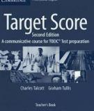 Target Score Teacher's Book: A Communicative Course for TOEIC Test Preparation