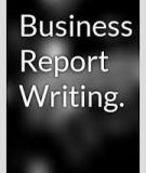 Business and Report Writing Skills