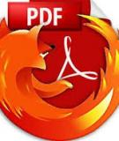 Thay i cch xem tp tin PDF trong Firefox