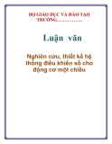 Lun vn: Nghin cu, thit k h thng iu khin s cho ng c mt chiu