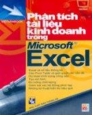 Phân Tích Tài Liệu Kinh Doanh Trong Microsoft Excel