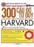 300 Cu  T Duy Ca Sinh Vin Trng i Hc Harvard